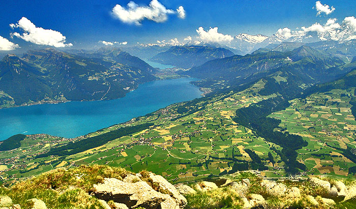 Lake Thun and Brienz